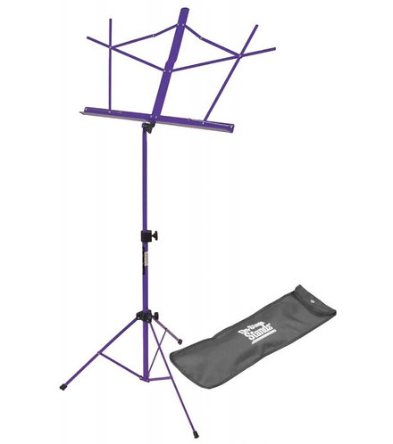 On-Stage SM7122PB Compact Sheet Music Stand (Purple, w
