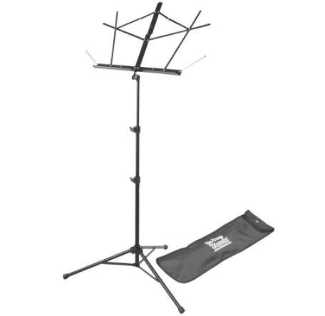 On-Stage - SM7222BB Tripod Base Sheet Music Stand (Black, w/ Bag)