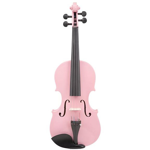 Le'Var - 4/4 Student Violin Outfit - Pretty Pink