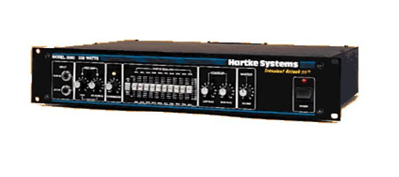 Hartke HA3500 HA3000 300W Bass Amplifier Head