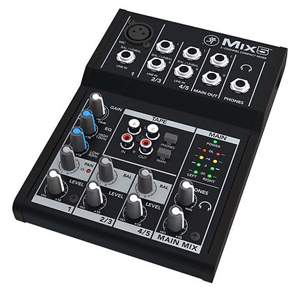 Mackie - Mix5 - 5-Channel Compact Mixer
