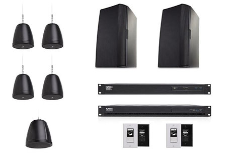QSC RESTAURANT-1-K Small Restaurant Commercial Sound Bundle