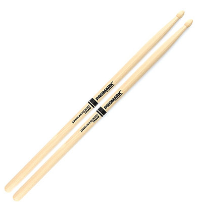 Pro-Mark TX5AW Hickory 5A Wood Tip Drum Sticks (PAIR)