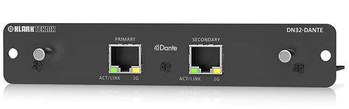 Klark Teknik DN32-DANTE DANTE Expansion Card For Behringer And Midas Digital Mix