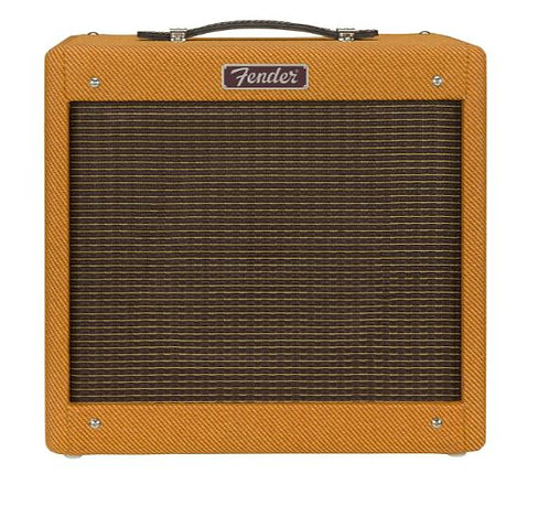 """Fender Pro Junior IV - Lacquered Tweed 15W 1-Channel 1x10"""" Tube Guitar Combo Amp"""