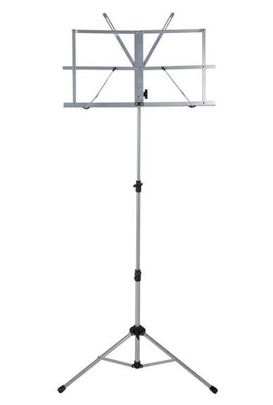 Ravel Folding Music Stand, Silver