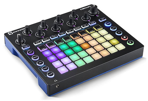 Novation  Circuit Groove Box + Sample Import Nova Synth and Drum Machine