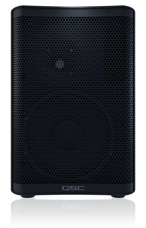 "QSC CP8 8"" 2-Way Active Compact Powered Loudspeakers In Black"