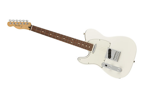 Fender Player Telecaster Left-Handed Polar White Body with Pau Ferro Fingerboard