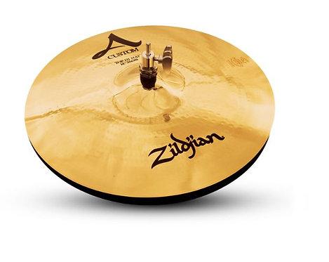 "Zildjian A20510 14"" A Custom Brilliant Finish HiHats"