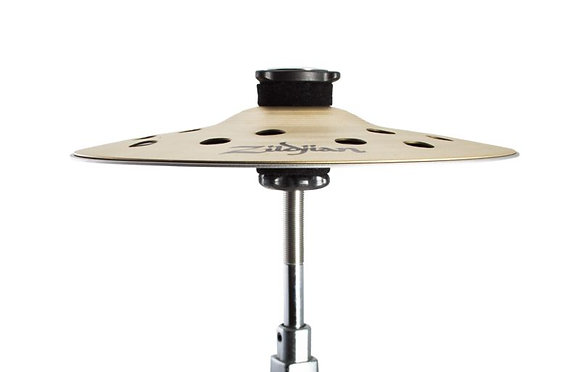 """Zildjian FXS8 8"""" Cymbal Stack Pair with Threaded Stand Adapter"""