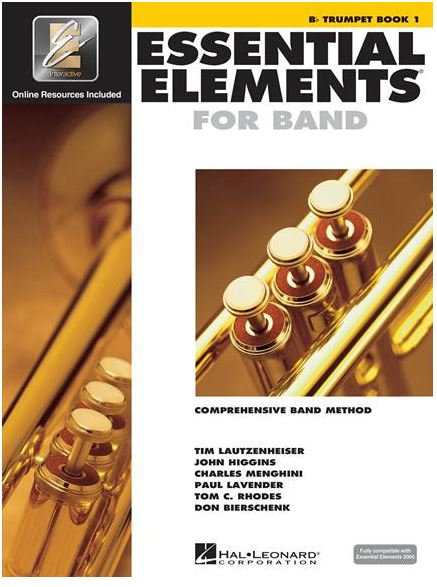 Essential Elements for Band - Bb Trumpet Book 1 with EEi and Media Online