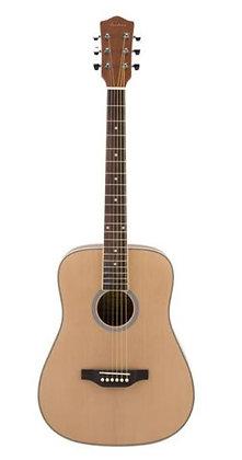 Archer - AD10L 6 String Acoustic Guitar - Natural, Left-Handed