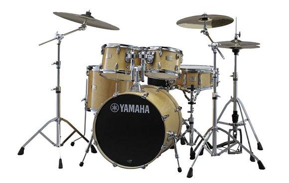 "Yamaha Stage Custom Birch 5-Piece Drum Set - 22"" Kick 10"" and 12"" Toms, 14"" Floo"