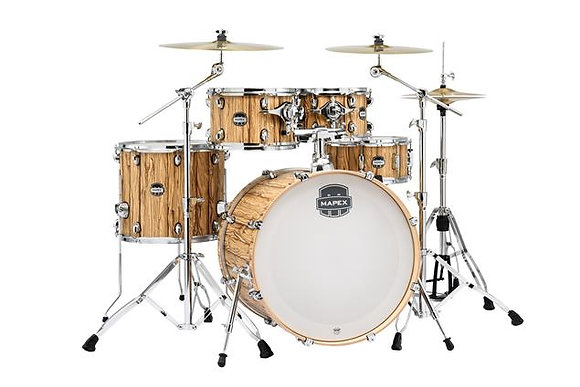 "Mapex Mars Series 5-Piece Rock Shell Pack w/ 22"" Bass Drum - Driftwood"