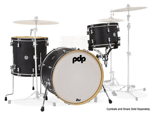 """Pacific Drums Concept Maple Classic Series 3-piece Maple Shell Pack with 13"""" Tom"""