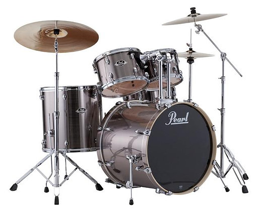 Pearl Export EXX725S 5-Piece Drum Kit - Smokey Chrome