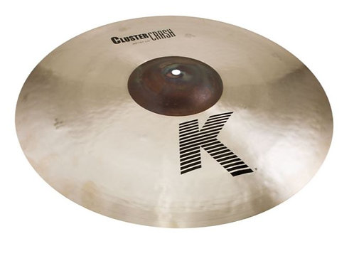 "Zildjian K0935 20"" Extra-Thin Crash Cymbal with Unlathed Bell"