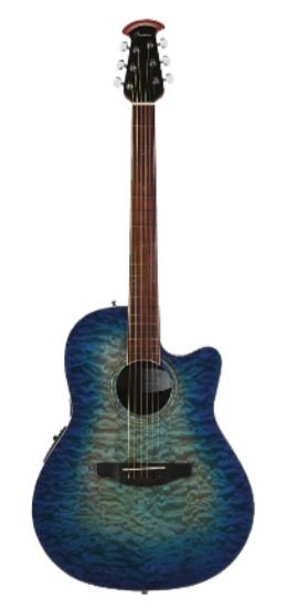 OVATION GUITARS - CELEBRITY STANDARD  EXOTIC Super Shallow Bowl
