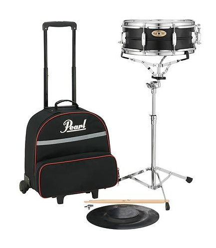 Pearl SK910C Snare Drum Kit w/ Carrying Case w/ Wheels