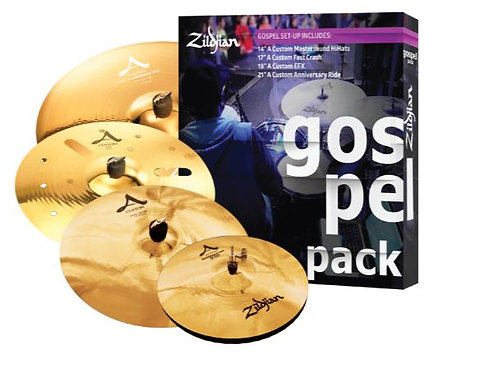Zildjian AC0801G A Custom Gospel Cymbal Pack