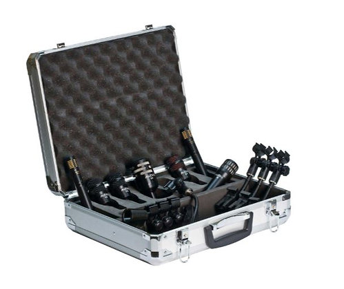 Audix DP7 Drum Mic Bundle with 7 Mics, 4 Mounts and Hard Case
