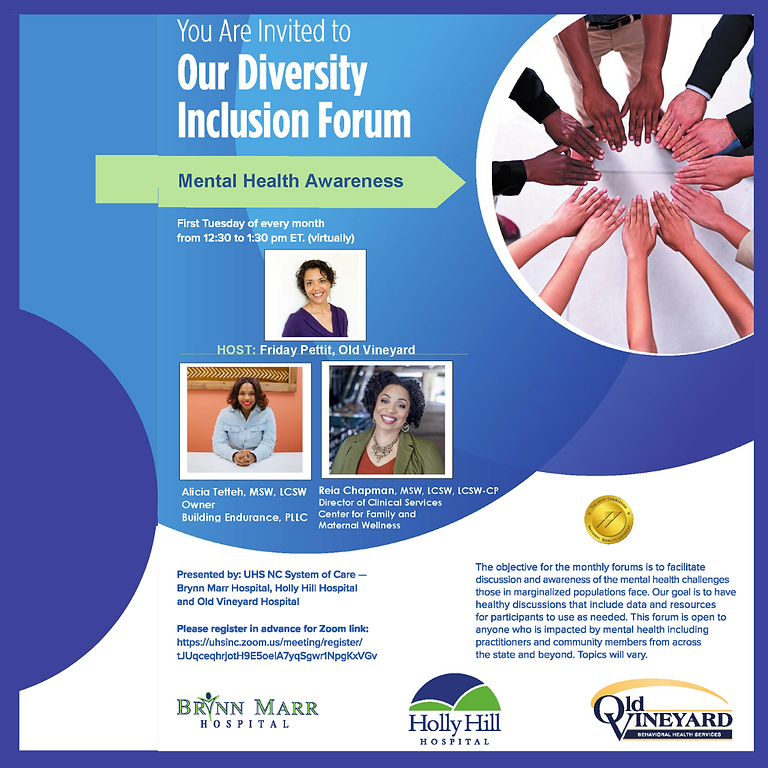 Diversity Inclusion Forum with Old Vineyard
