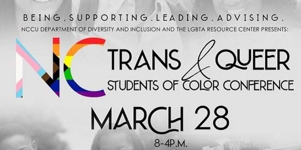 NC Trans & Queer Students of Color Conference