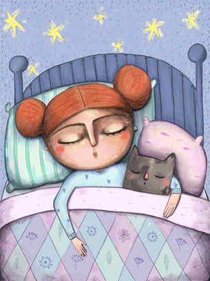 Moïra dort