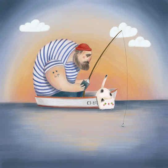 Le pêcheur n°2