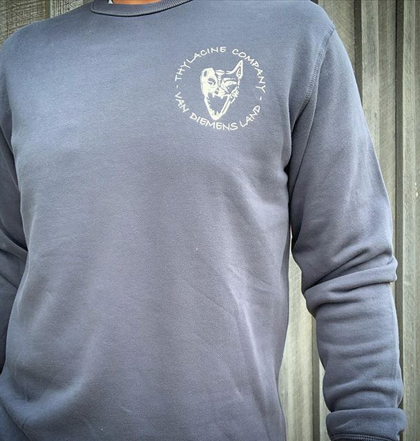 Crew Necks available in Petrol Blue and