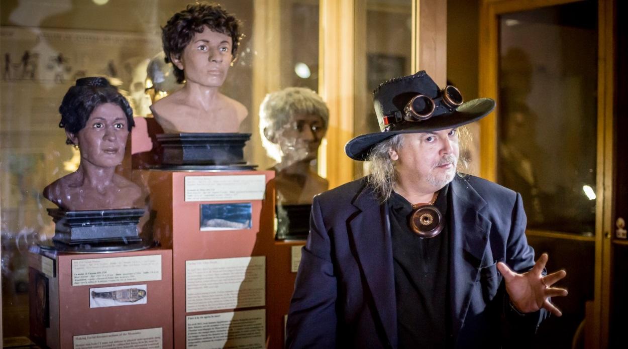 Richard au Musée Redpath