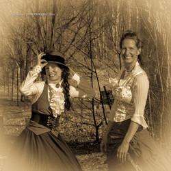 Eva et Pascale à Dunham