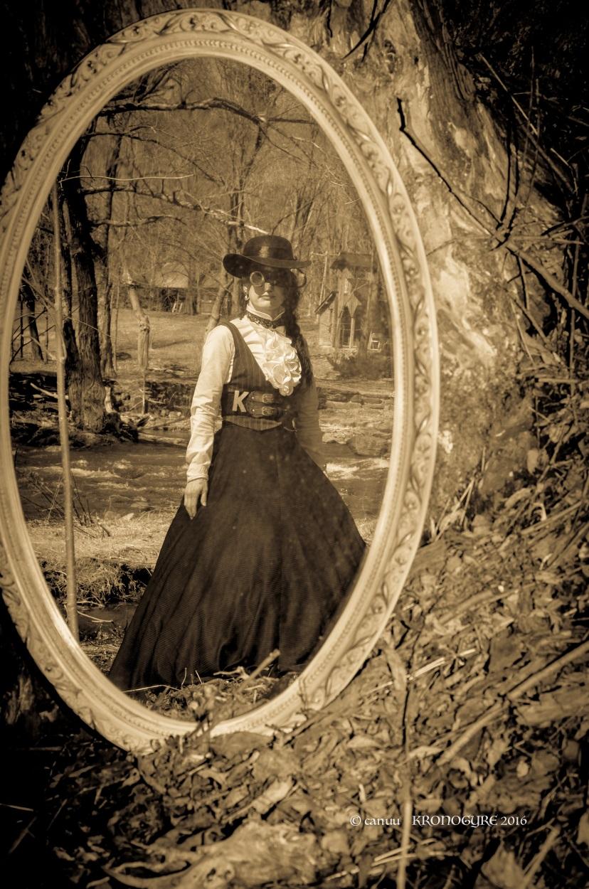 Eva et le miroir