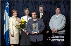 Prix d'excellence réseau santé