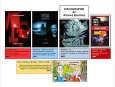 Discographie Richard Bouffard