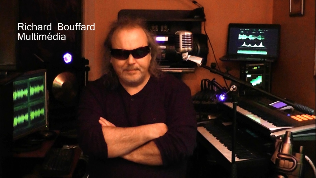 Studio personnel Richard Bouffard