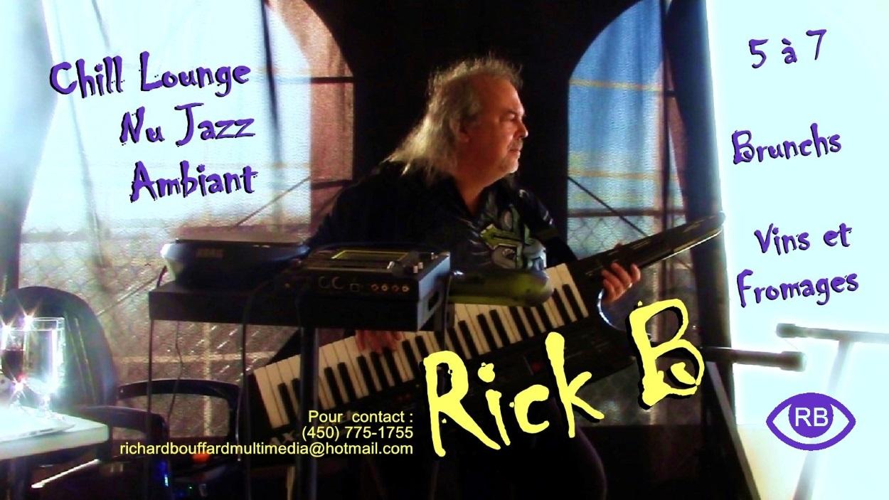 Rick B affiche