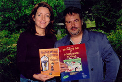 Louise-Anne Beauregard et Richard Bouffard