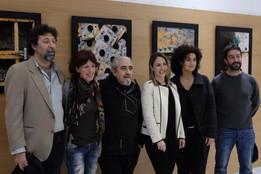 con Carlos de Paz y compañeros del Colectivo Fotográfico Desencuadre