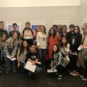 Visita de alumnos de la Escuela de Artes de Almería
