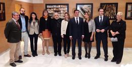 con los representantes de la Diputación de Almería y la Corporación Municipal de Viator