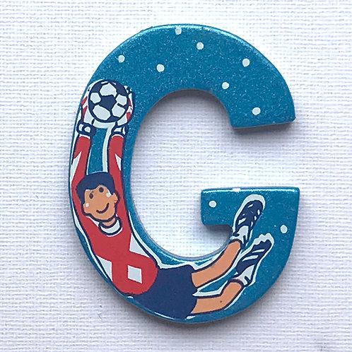 Letter G (Goalkeeper)