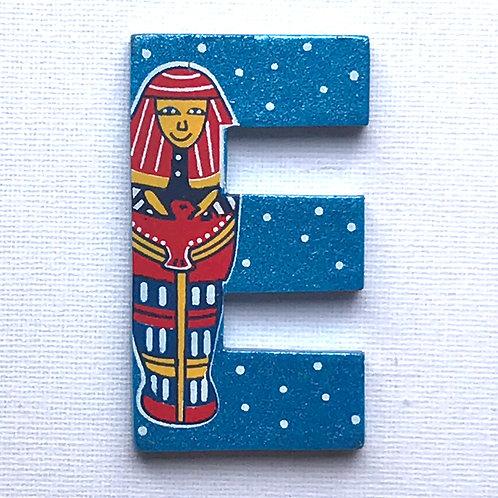 Letter E (Egyptian Mummy)