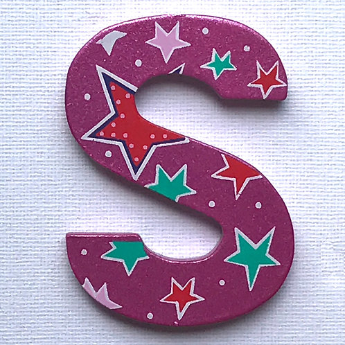 LETTER S (Stars)