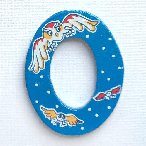 Letter O (Owl)