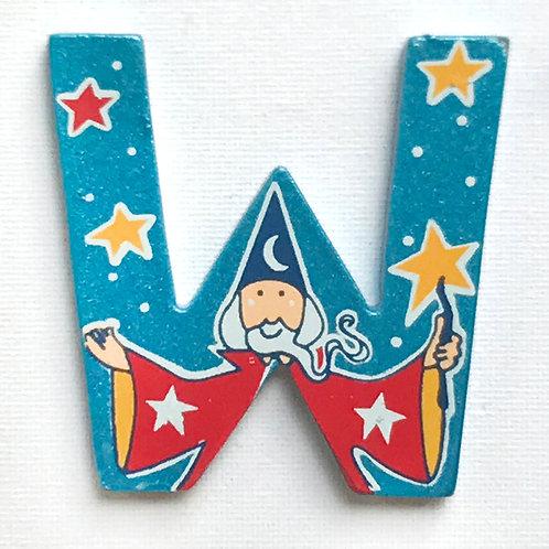 Letter W (Wizard)
