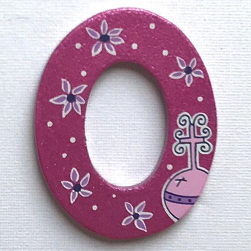 Letter O (Orb)