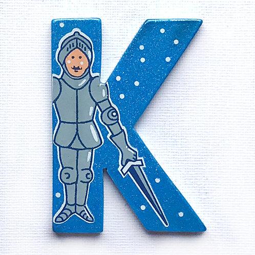Letter K (Knight)