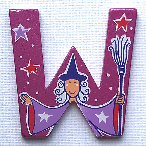 LETTER W (Witch)